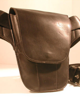 Classic Range, Black Leather Rude Tool Belt