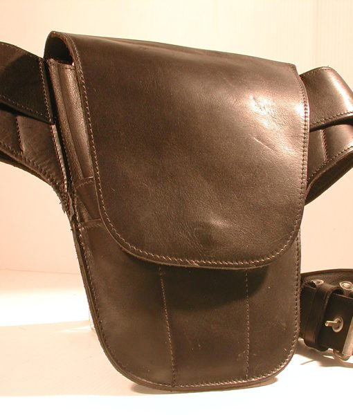 Classic Range, Black Leather Rude Tool Belt
