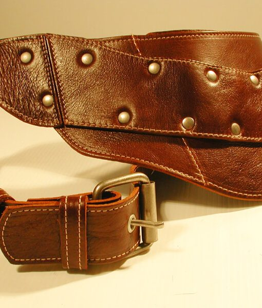 The Brown Leather Bullet